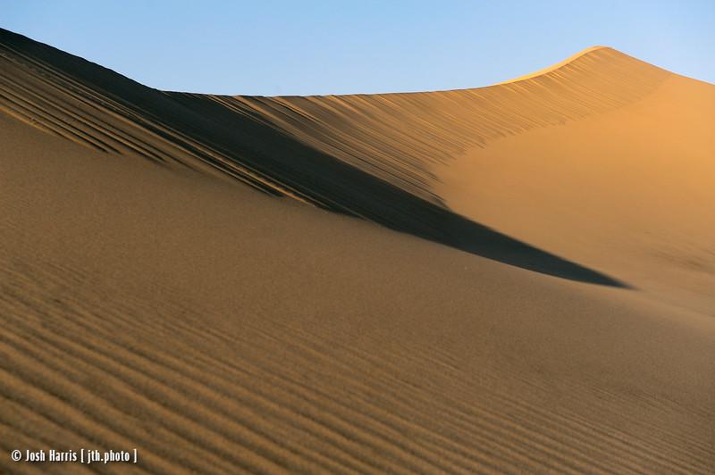 Eureka Dunes, Death Valley, June 2013.