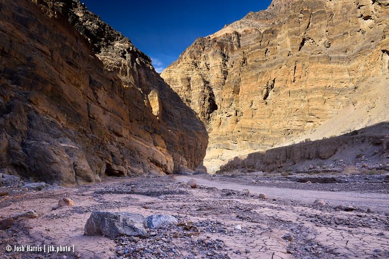 Titus Canyon, Death Valley, November 2017.