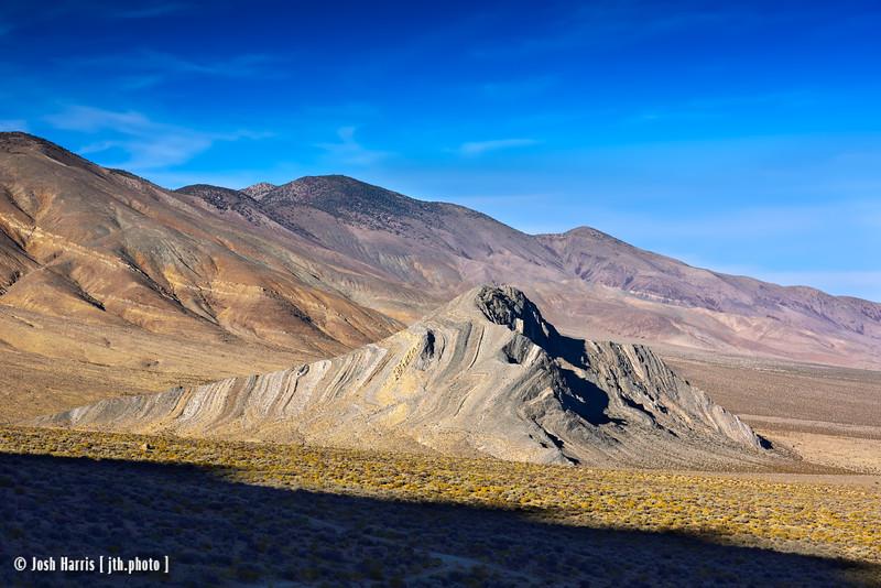 Striped Butte, Death Valley, November 2017.