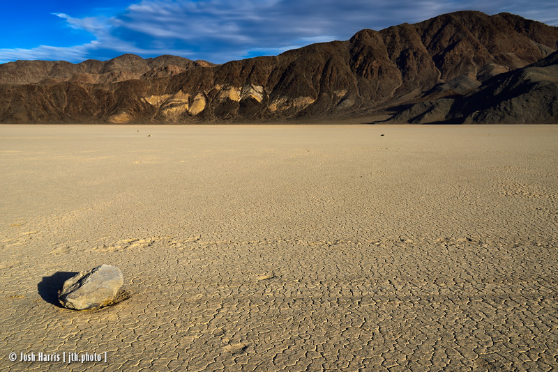 The Racetrack, Death Valley, November 2017.