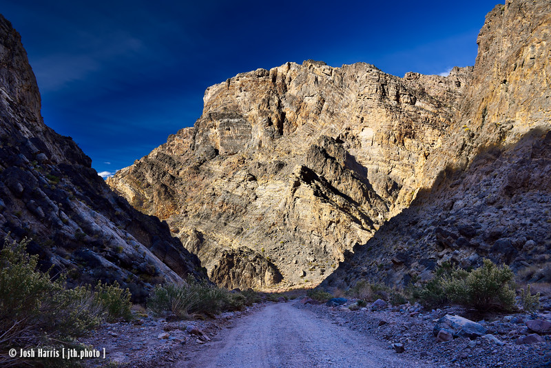 Titus Canyon, Death Valley, November 2017.
