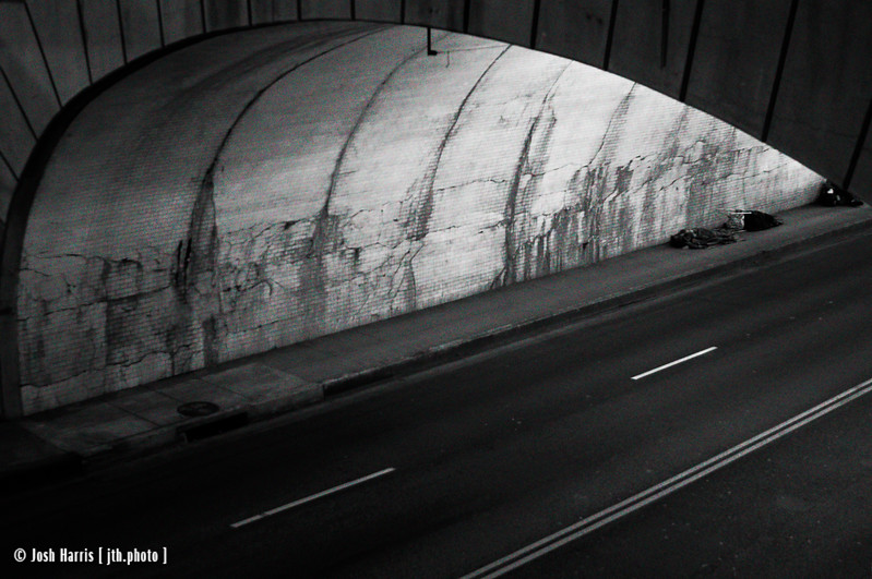 2nd Street Tunnel, Los Angeles, February 2008.