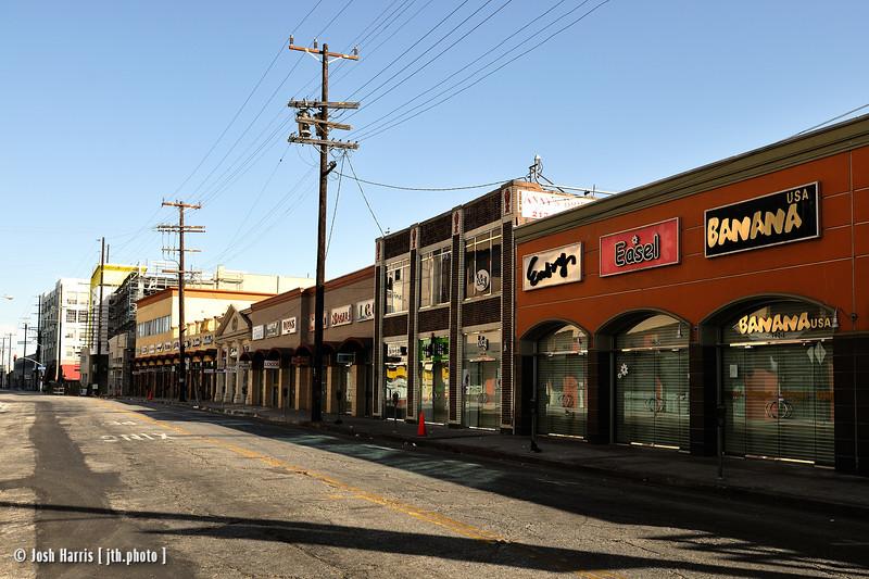 12th Street at Crocker Street, Los Angeles, August 2008.