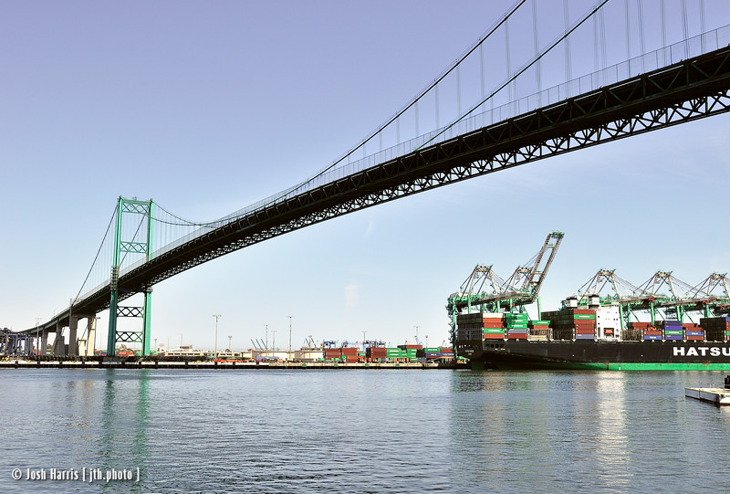 Keel Street at the Main Channel, San Pedro, June 2008.