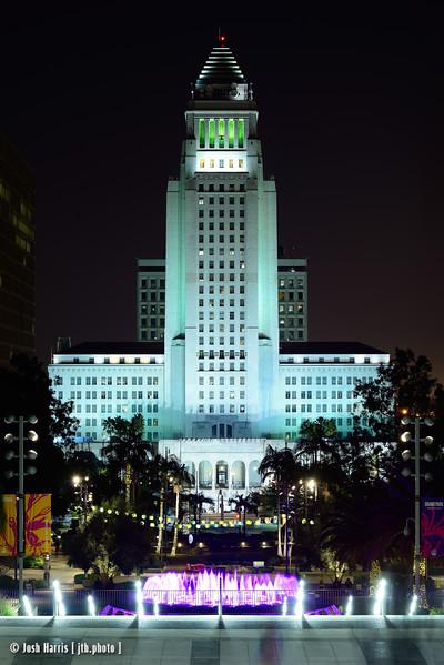 Grand Park, Los Angeles, January 2015.