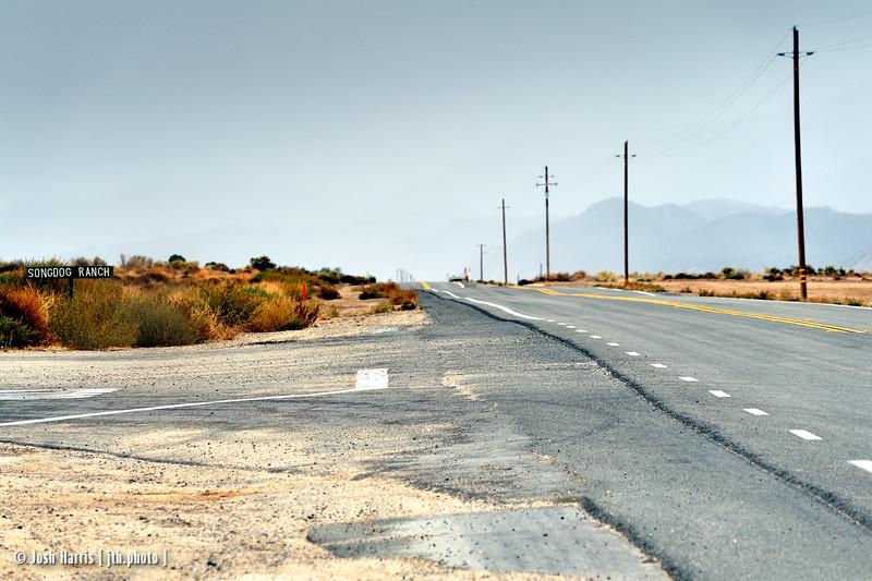 Lockwood Valley Road at Highway 33, Los Padres National Park, November 2008.