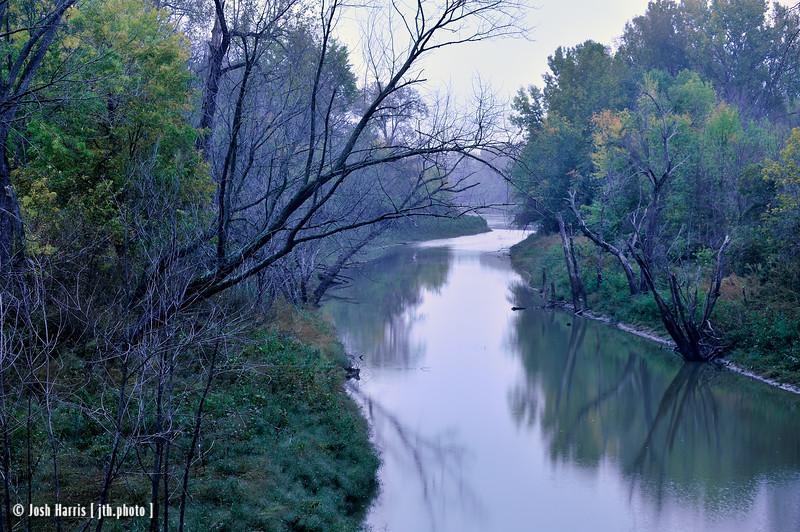 Rocheport, Katy Trail, Missouri, October 2012.