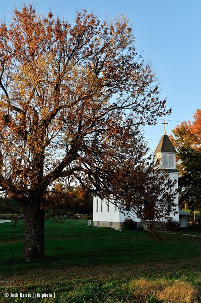 Rhineland, Katy Trail, Missouri, October 2012.
