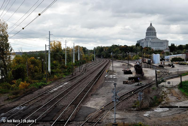 Jefferson City, Katy Trail, Missouri, October 2012.
