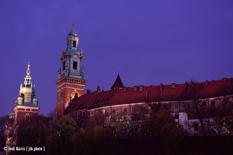 Wawel Castle, Krakow, Poland, October 2018.