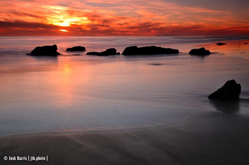 Leo Carillo State Beach, January 2012.