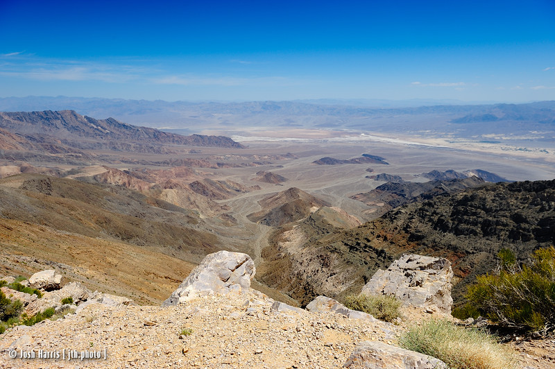 Aguereberry Point, Death Valley, May 2014.