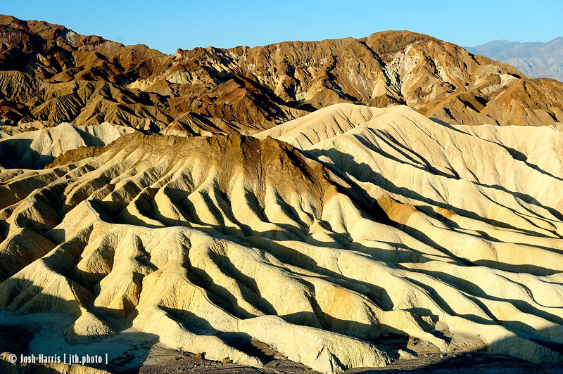 Zabriskie Point, Death Valley, May 2014.