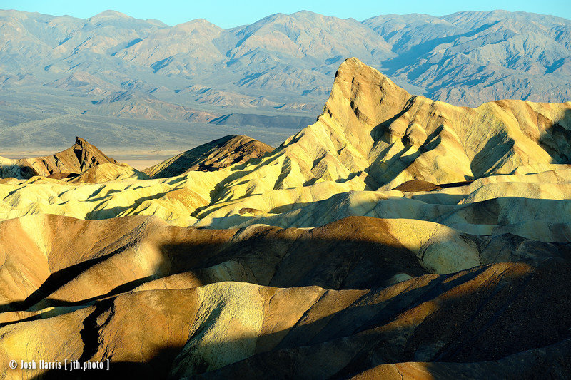 Zabriskie Point, Death Valley, May 2014.
