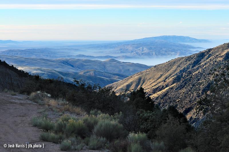 Cerro Noroeste Road, Los Padres National Forst, December 2010.