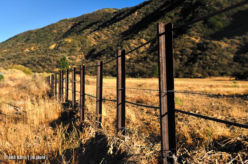 Rose Valley Road, Los Padres National Park, October 2008.