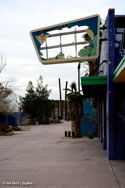 Dolores/Rock-A-Hoola Waterpark, Newberry Springs, California, January 2015.