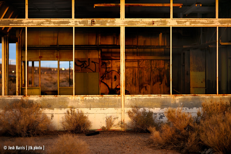 Yermo, California, Mojave Desert, November 2013.