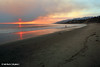 Smoke from various fires, viewed from Will Rogers State Beach, Pacific Palisades, November 2008.