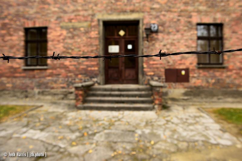 Block 23, Auschwitz, Poland, October 2018.