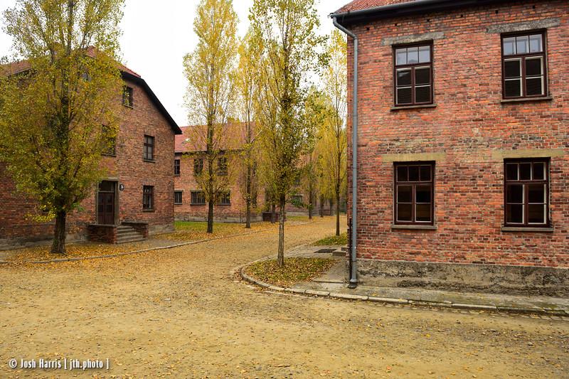Auschwitz,  Poland, October 2018.