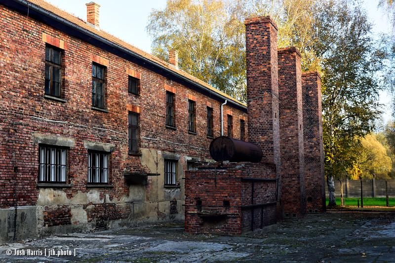 Block 1, Auschwitz, Poland, October 2018.