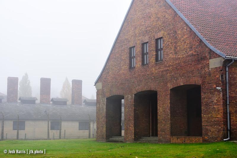 Prisoner Admissions, Auschwitz,  Poland, October 2018.