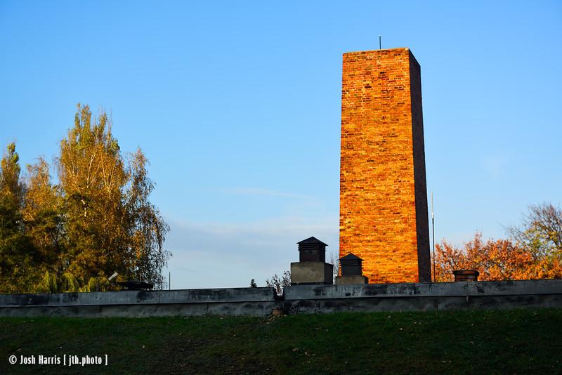 Crematorium I, Auschwitz, Poland, October 2018.