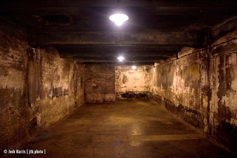 Gas Chamber, Crematorium I, Auschwitz, Poland, October 2018.