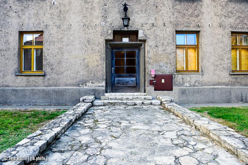 SS Hospital, Auschwitz, Poland, October 2018.