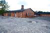 "Main Camp Bathhouse, ""The Sauna,"" Auschwitz II-Birkenau, Poland, October 2018."