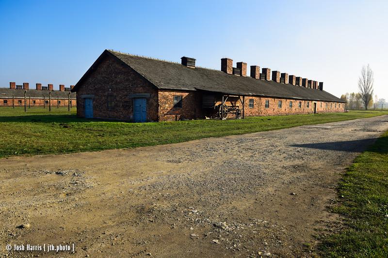 Kitchen, Auschwitz II-Birkenau, Poland, October 2018.