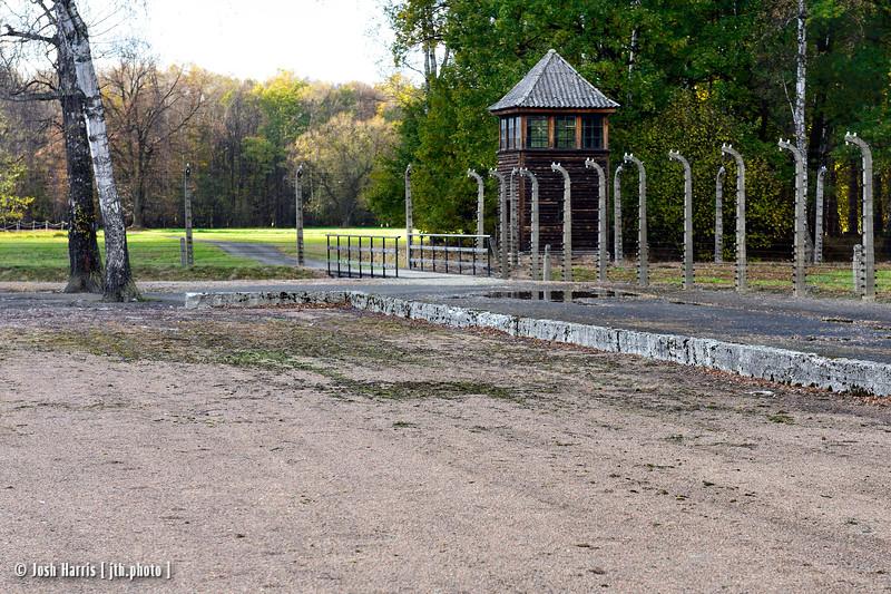 Rear Entrance, Auschwitz II-Birkenau, Poland, October 2018.