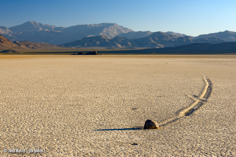 The Racetrack, Death Valley, August 2016.
