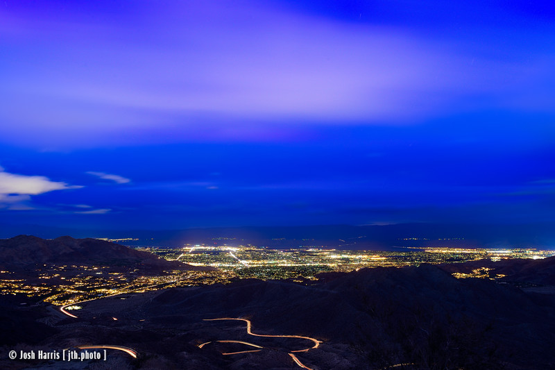 Highway 74 Overlook, Palm Desert, California, March 2014.