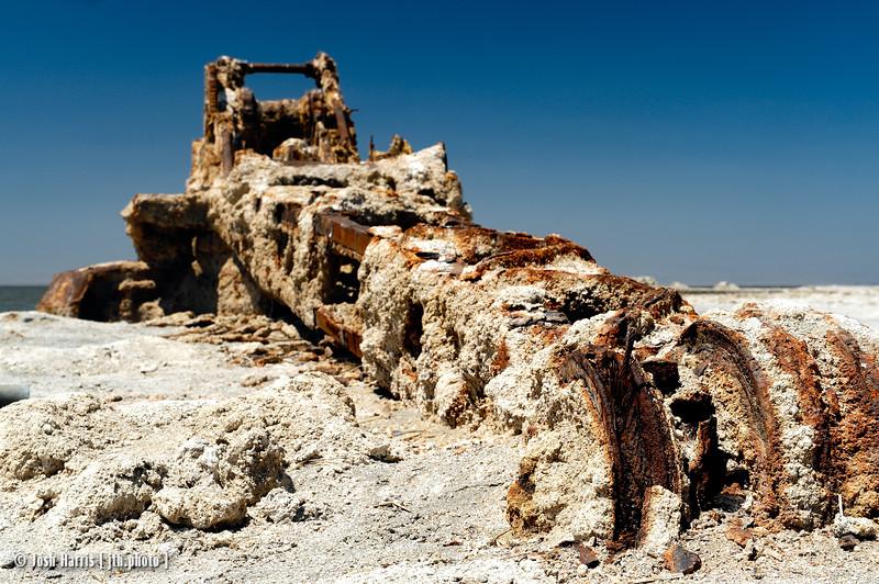 Bombay Beach, Salton Sea, May 2013.