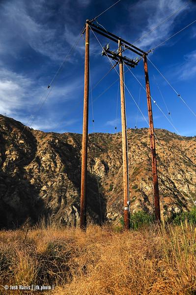 Malibu Canyon Road, Los Angeles County, August 2008.