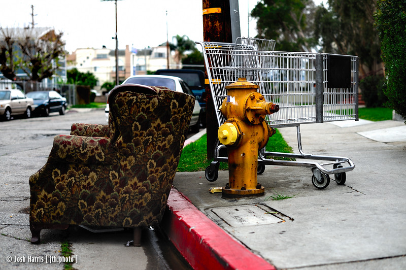 Independence Avenue at Vanowen Street, Canoga Park, March 2010.