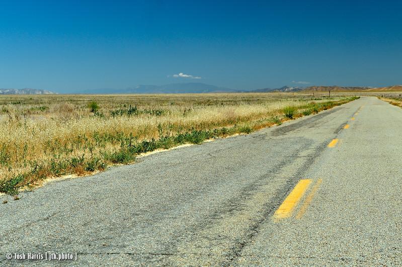 Soda Lake Road, Carrizo National Monument, May 2012.