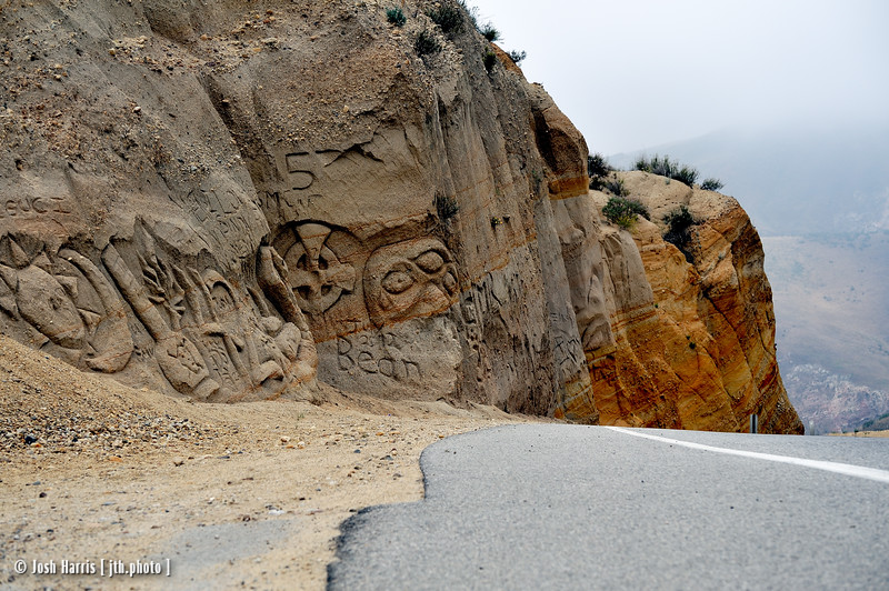 Highway 23, Grimes Canyon, June 2012.