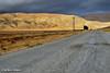 Seven Mile Road at Highway 58, Soda Lake, Carrizo Plain National Monument, November 2008.