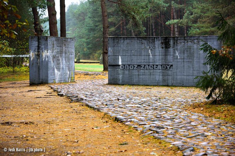 """Obóz Zagłady, """"Extermination Camp,"""" Treblinka, Poland, October 2018."""