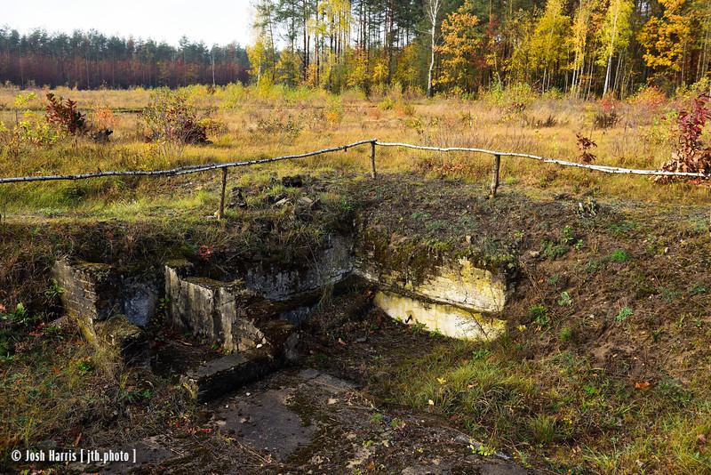 Punishment Bunker, Treblinka Labor Camp, Poland, October 2018.