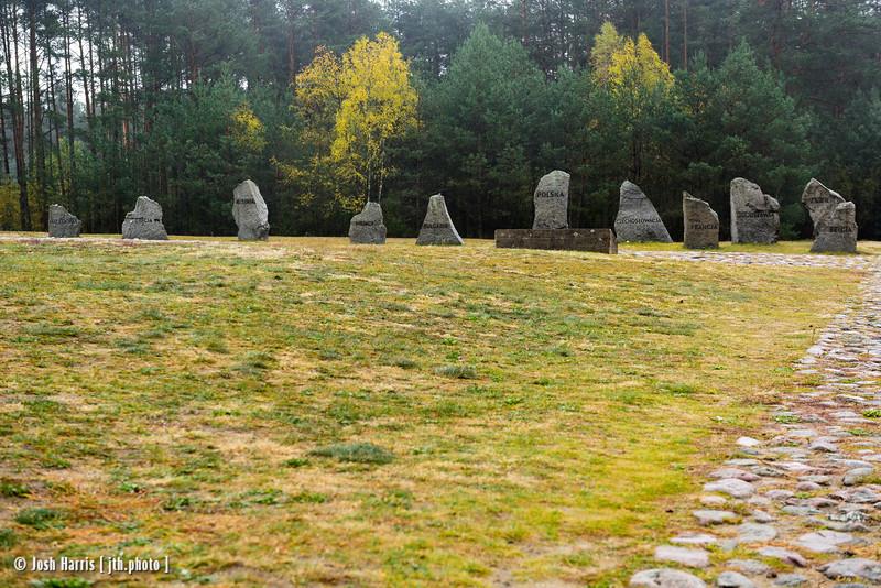 Treblinka Extermination Camp, Poland, October 2018.