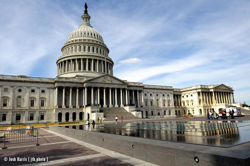 United States Capitol, Washington, October 2009.