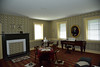 A touch of class!<br /> The recreated Formal Parlour inside the Lemon House<br /> Note the spittoon and large ashtrays..