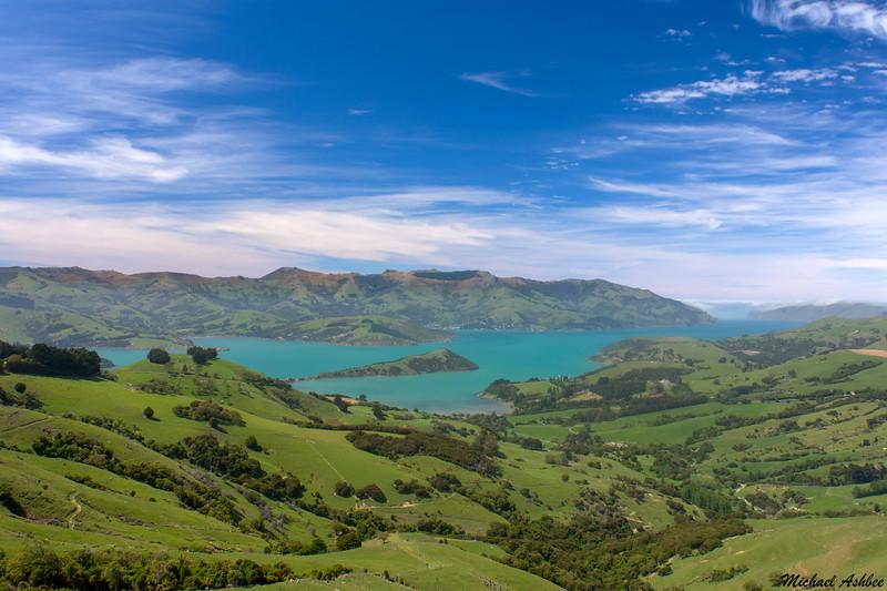 Akaroa,New Zealand