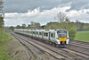 700005 passing Salfords with 2W31 the 10.54 Thameslink service from  Bedford to Three Bridges<br /> <br /> 26 April 2018