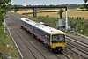 Turbo 165101 forms 1K63 13.35 from Bedwyn to London Paddington<br /> Seen passing Millie Bridge.<br /> <br /> 3 August 2015