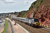 XC HST 43207 is at the head of 1S51 as it passes Rockstone Bridge forming the 12.25 Cross Country service  from Plymouth to Glasgow Central<br /> <br /> 1 September 2016